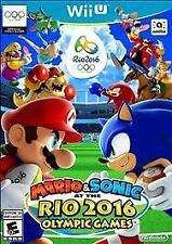 Mario & Sonic at the Rio 2016 Olympic Games [Nintendo Wii U] Brand New