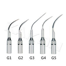 10 Dental Perio Scaling Tip G1 G2 G3 G4 G5 two each For EMS/WOODPECKER Handpiece