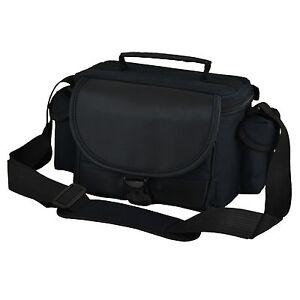 AAU Black DSLR Camera Case Bag for Canon EOS 1DX 7D 5D 650D 600D 550D 500D 450D