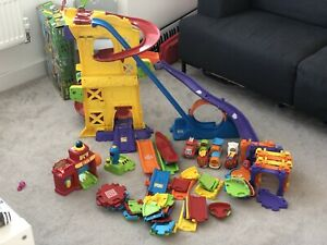Toot Toot Drivers Super Track + 8 Cars, Fire Station & Lots More Track