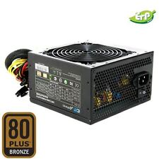 CIT 500w A-PFC 80 PLUS PC Computer PSU Alimentatore 6-pin Ready 12cm Fan