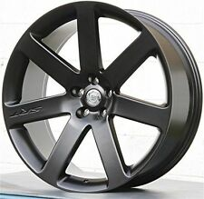 22 Inch Chrysler 300C SRT Style black Rims 5x115 300c Wheels 4 Sale Like Oem
