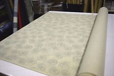 """COVINGTON PLUMAGE SILVER SAGE DESIGNER UPHOLSTERY & HOME DECOR FABRIC 54"""" W BTY"""
