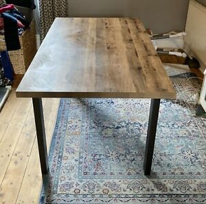 Next Bronx Extendable Dining Table. 6-8 Seater - Oak Finish