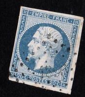 EMPIRE VARIÉTÉ N°14 Af (BLEU LAITEUX)  oblitéré 1896 -  CV: 15 €