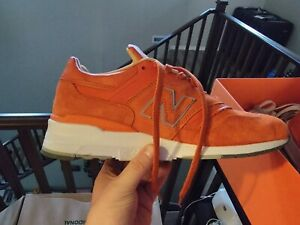 New Balance 997 x Concepts Luxury Goods Suede Orange Athletic Shoes. Size 11.5
