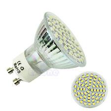 GU10 3528SMD 60 LED 5W 220V Warm White 3500K High Power Spot Light Lamp Bulb