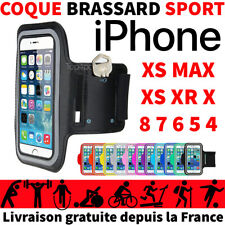 ETUI HOUSSE COQUE DE PROTECTION IPHONE XR XS X 8 7 6s 5s 5 5c 4s SPORT BRASSARD