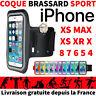 ETUI HOUSSE COQUE DE PROTECTION IPHONE XR XS X 8 7 6s 5s 5 5c 4s SPORT BRASSARD