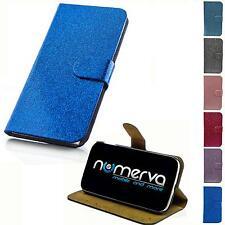 Glitzer Style Handy Tasche Schutz Hülle Flip Case Klapp Etui Hard Cover Schale