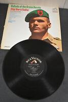 "SSGT BARRY SADLER ""Ballads Of The Green Berets"" LP RCA LPM-3547 Excellent"