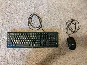HP USB Mouse and Keyboard Set
