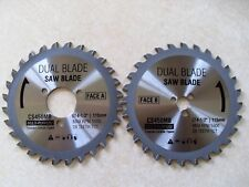 DualSaw Everyday CS450 Multi Purpose Carbide Replacement Blade Set Dual Saw