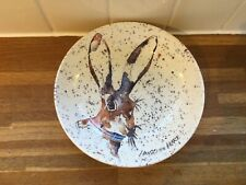 More details for royal stafford - hugo the hare- pasta bowl - brand new