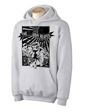 GRIM REAPER HOODIE - Skeleton Skull Halloween Goth Gothic - Choice Of Colours