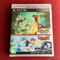 Rayman Legends + Rayman Origins PS3 Playstation 3 English Russian BRAND NEW
