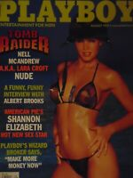 Playboy August 1999 | Nell McAndrew Rebecca Scott   #7675