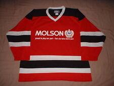 Molson New Jersey Devils Red Kobe Men's Size XL Hockey Jersey