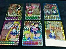 Rare 1994 Graffiti Bandai Sailormoon Part 5 6 Prism Card Set + 38 Card Set