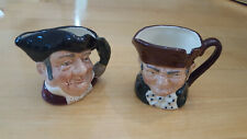"Royal Doulton Old Charley Mini Toby Jug 1.25"" Mug and Mine Host"