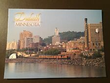 Duluth, Minnesota collectors postcard - Waterfront