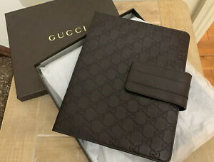 BNIB GUCCI GG GUCCISSIMA BROWN LEATHER IPAD TABLET CASE COVER SLEEVE RP £445