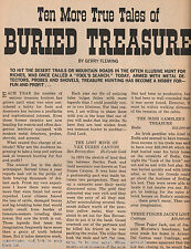 Ten More True Tales of Burried Treasure in Western US