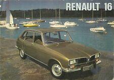 Renault 16 1974-75 UK Market Sales Brochure L TL TS TX