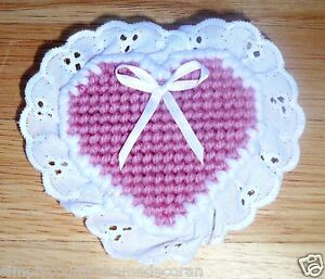 PINS VALETINE HEART With Eyelet~Handcrafted~Colors & Designs Vary~NEW