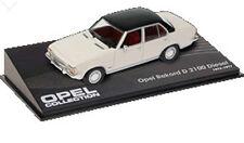 CL20 Opel Rekord D 2.1L 1973 1/43 Scala Bianco/Nero Nuovo in Vetrina Esposizione