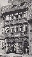 Wernigerode um 1920 - Harz - Gerlitzsches Haus - selten