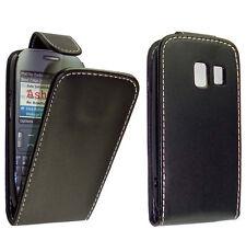 Nokia 302 Asha - Housse Etui de protection à Clapet  + 1 protection écran