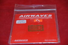 AIRWAVES PHOTO ETCHED F-4 E/J STRAPS MB MK7 STRAPS AW2035-MMD AC 7235 1:72 NEW
