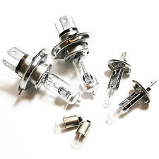 H4 H1 T4W 100w Clear Xenon HID High/Low/Fog/Side Light Headlight Bulbs