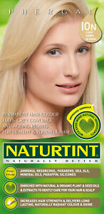 Permanent Hair Colorant Light Dawn Blonde (10N) by Naturtint, 1 pack