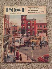 Vintage November 12, 1955 SAT EVENING POST Back Issue Magazine - Arthur Godfrey