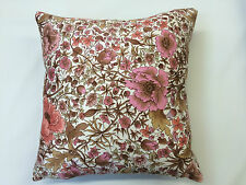 "1970s Vintage / Retro Floral Shabby Chic Cushion Covers 37 x 37cm (14.5 x 14.5"")"