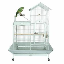 LIBERTA ANGEL AFRICAN GREY AMAZON LARGE PLAY TOP PARROT CAGE STONE