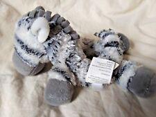 Koala Baby Black White Gray Zebra Hand Rattle Plush Animal Soft Baby Toy