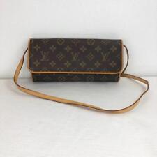LOUIS VUITTON Monogram LV Twin GM Pochette Clutch Crossbody Bag