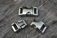 Lot of Metal Paracord Buckles for Paracord Bracelets Side Release