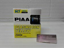 PIAA H7 2500K Plasma Ion Yellow Gold Xtra 55w=110w Light Bulbs from Japan 13507