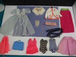 Barbie - 1960s Black & White Label Clothing Lot Very Good to TLC Pls Read Lot 10