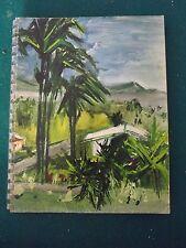 Ets NICOLAS liste des grands vins 1960 Antilles peinture de R.HUMBLOT   c8 s113