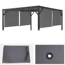 Ersatzbezug für Dach Pergola, Pavillon, Beja 3x3m, grau