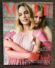 Brand NEW - British VOGUE UK Magazine February 2018 Nicole Kidman Margot Robbie