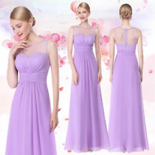 Ever-Pretty Lavender Long Bridesmaid Dresses Formal Sleeveless Ball Gowns 08761