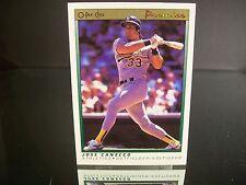 Rare Jose Canseco O-Pee-Chee Premier 1991 Card #18 Oakland Athletics MLB
