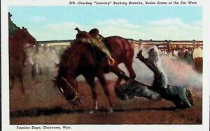 Frontier Days, Cheyenne, Wyoming WY - Vintage Postcard