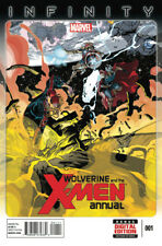 WOLVERINE AND THE X-MEN Annual #1 - New Bagged
